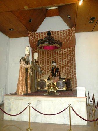 Militärmuseum (Harbiye Askeri Müzesi): Marquee of Selim III