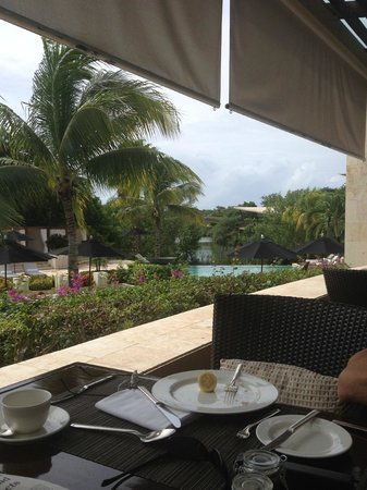 Rosewood Mayakobá: The view from breakfast!