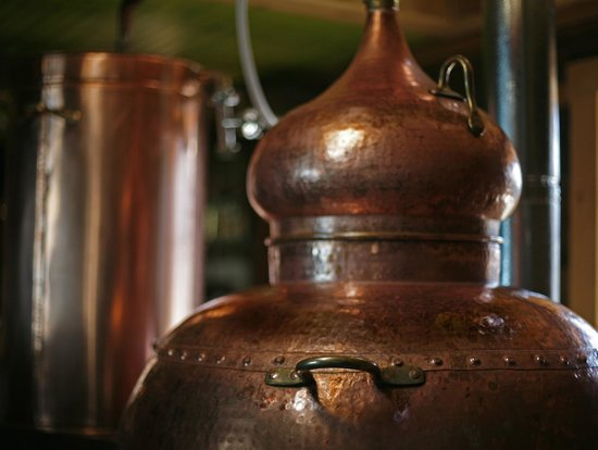 Montanya Distillers: One of our Alembic Copper Pot Stills