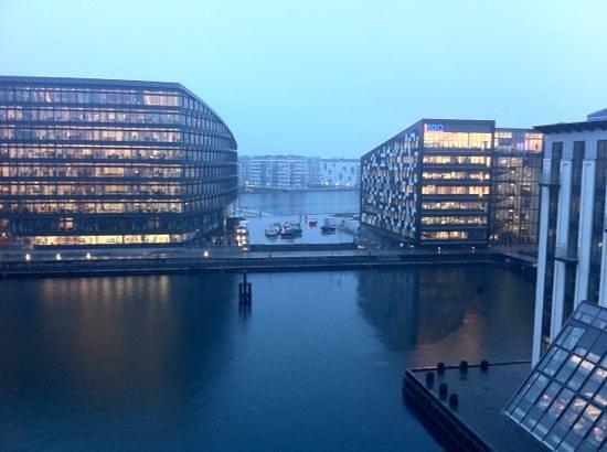Copenhagen Island Hotel: My room view (5516)