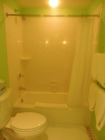 Congress Hall : 4th floor shower and shallow tub