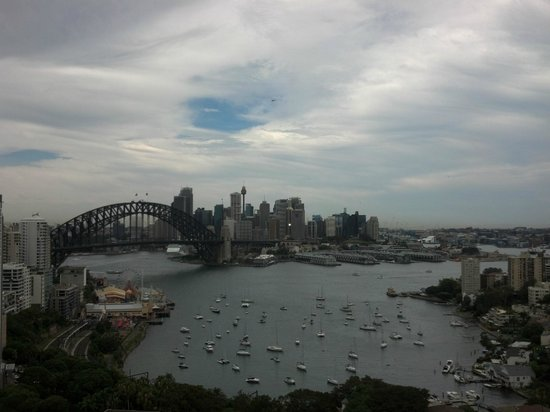 North Sydney Harbourview Hotel : View from our room, 1306.