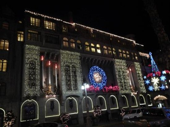 The Mission Inn Hotel and Spa: More lights to see.