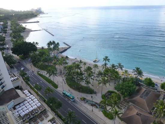 Hyatt Regency Waikiki Resort & Spa : Day view just one view from the room