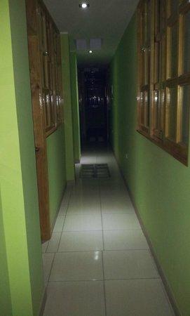 Hotel Sol y Dunas: Pasillo