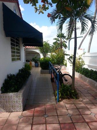 Tres Palmas Inn: Front area