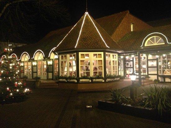Romantik Hotel Bösehof: Weihnachtliche Außenansicht