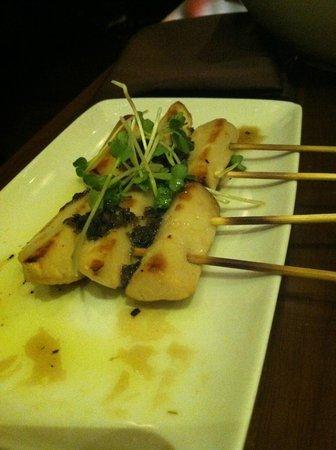 Izakaya in Borgata Hotel: Robatayaki mushrooms: so-so