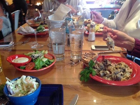 Fromaggio Bistro : great food- we ate it all!