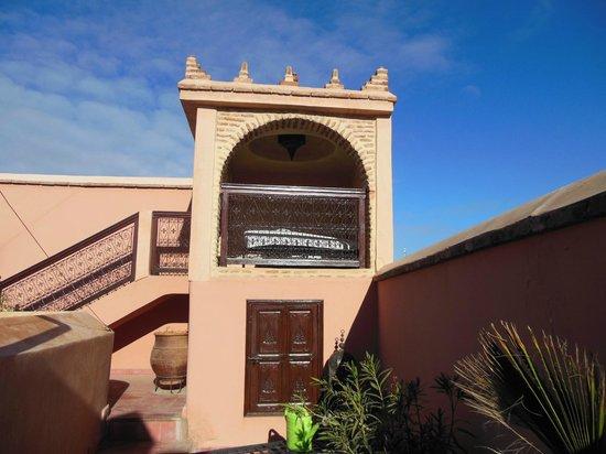 Riad Louaya : dal terrazzo