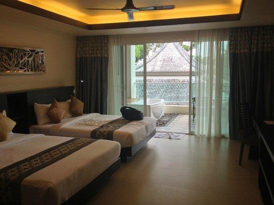 Anyavee Tubkaek Beach Resort: spacious rooms