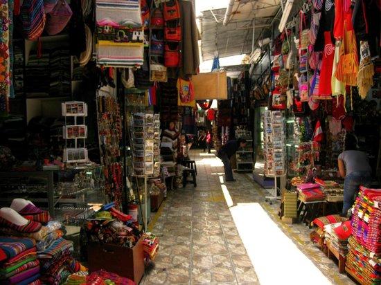 Hospedaje Dimar Inn: mercado inca