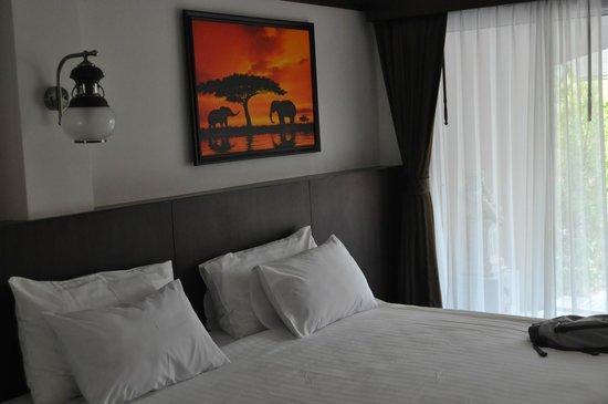 The Nine Hotel @ Ao Nang: Наш номер, второй этаж
