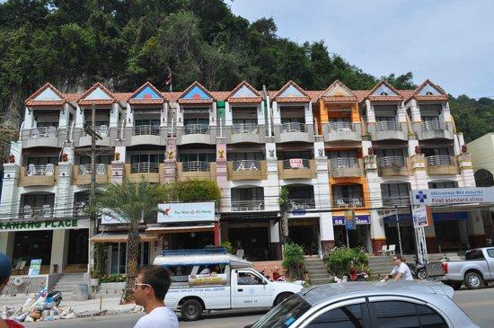 The Nine Hotel @ Ao Nang: Отельчик находится в здании, где присутствуют еще несколько отелей