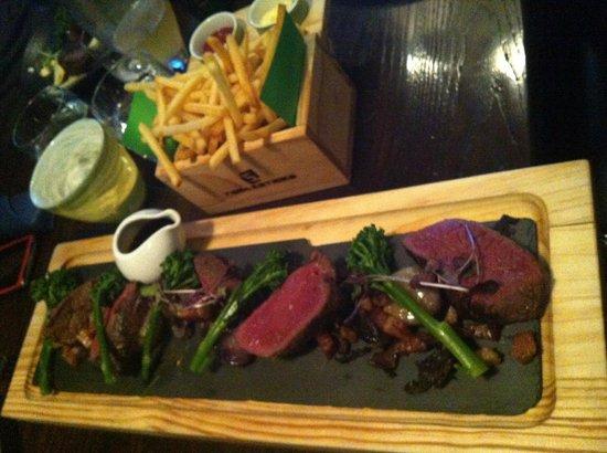 Fiddlesticks Restaurant & Bar: Bespoke shared feast for two - venison