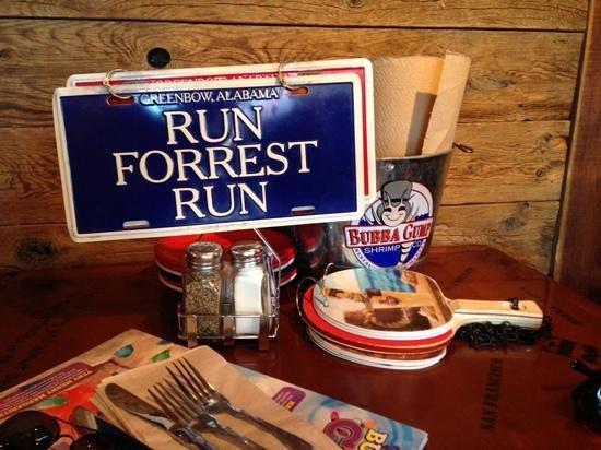 Bubba Gump Shrimp Co: Run Forrest