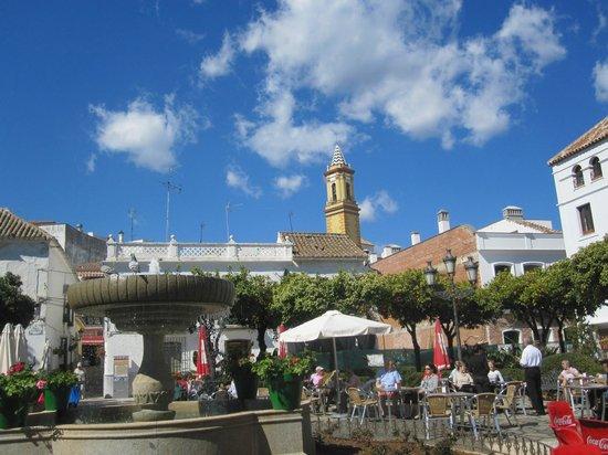 Эстепона, Испания: Plaza de las Flores, Estepona