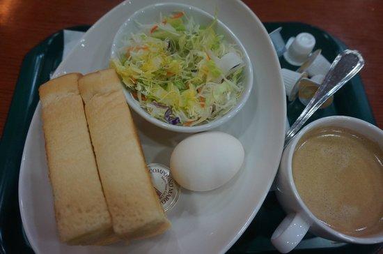 Sotetsu Fresa Inn Nihombashi-Kayabacho : complimentary breakfast