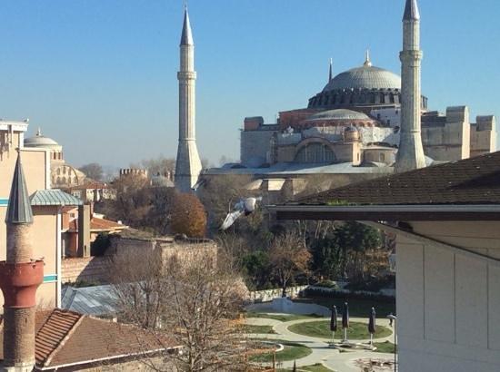 Hagia Sophia Hotel Istanbul Old City: вид из номера