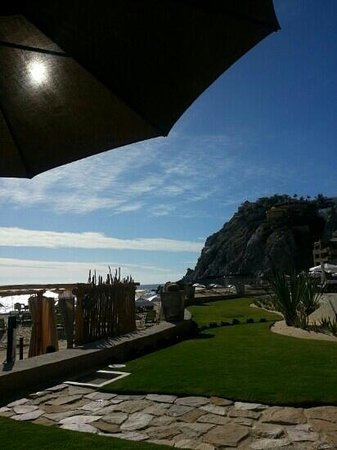 The Resort at Pedregal: view from our beach front cottage - suite 30