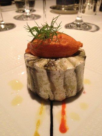 Restaurant Le Pergolese : Moelleux de sardines