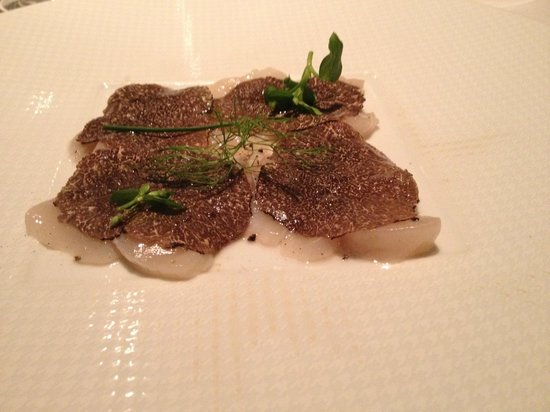 Restaurant Le Pergolese : Saint-Jacques aux truffes