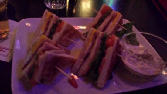 Primafila Music Cafe: Very good club sandwich