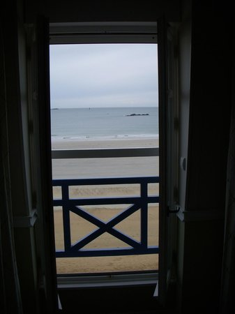 Hotel Beaufort: View out the window.