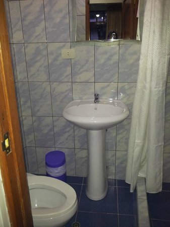 Hostal Varayoc : Baño
