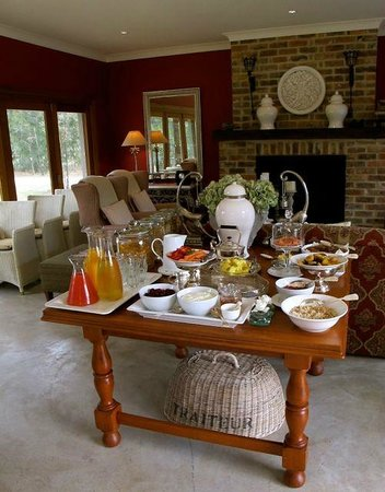 Thistle Hill Guest House: Breakfast room ... fabulous!