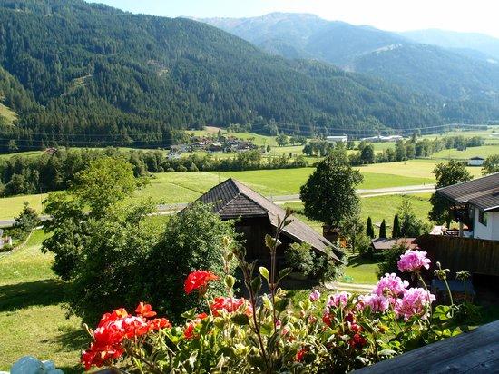 Krauterpension Rosenkranz: panorama della valle dalla nostra camera