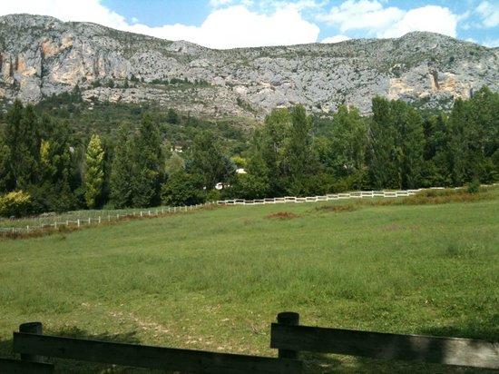 La Bastide de Moustiers : View of the mountains