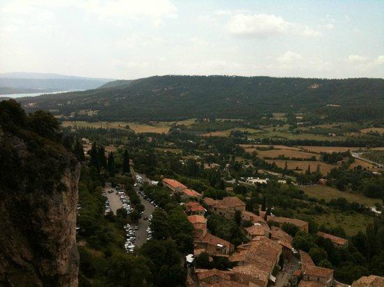 La Bastide de Moustiers : The village