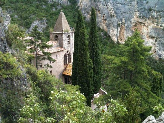 La Bastide de Moustiers : The Norte-Dame de Beauvoir chapel