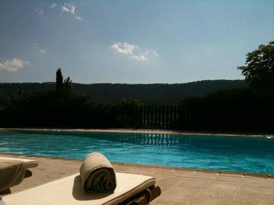 La Bastide de Moustiers : Enjoying days by the pool