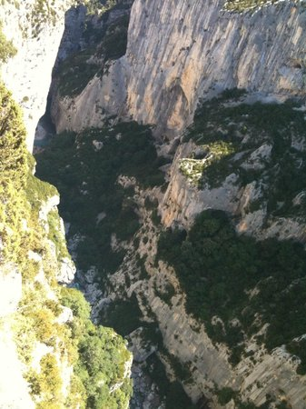 La Bastide de Moustiers: The Gorges