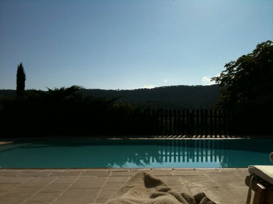 La Bastide de Moustiers : The pool