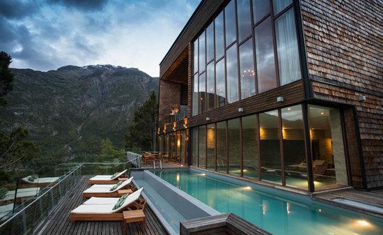 Uman Lodge Patagonia Chile: POOL&SPA
