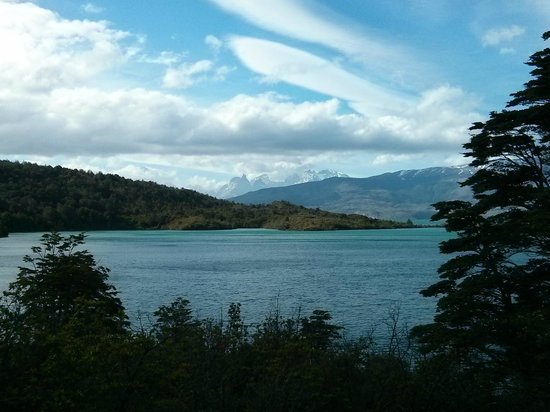 Torres del Paine from Patagonia Camp