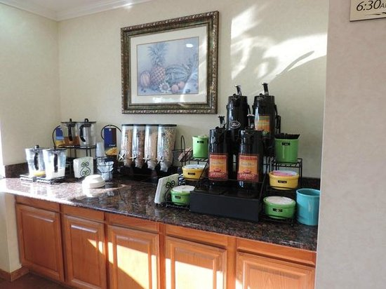 Coffee bar Picture of BEST WESTERN Garden Inn San Antonio