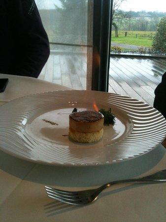 Restaurant Kasbur : Du foie gras qui flambe ! Etonnant, délicieux