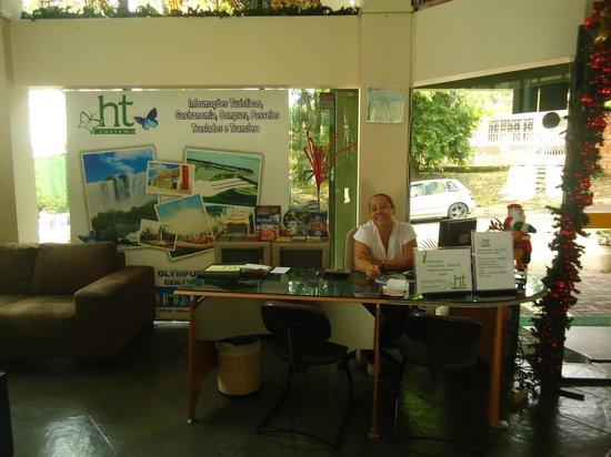 Turrance Green Hotel : HT Agência de Turismo dentro do Hotel