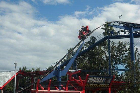 LEGOLAND Florida Resort: roller coaster