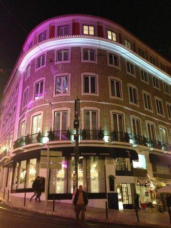 Teatro Bed & Breakfast: Frente do Hotel