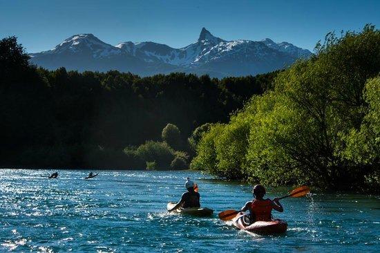 Uman Lodge Patagonia Chile: KAYAC