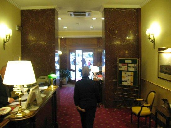 Hotel Napoleon: public area