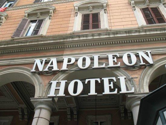 Hotel Napoleon: Hotel name