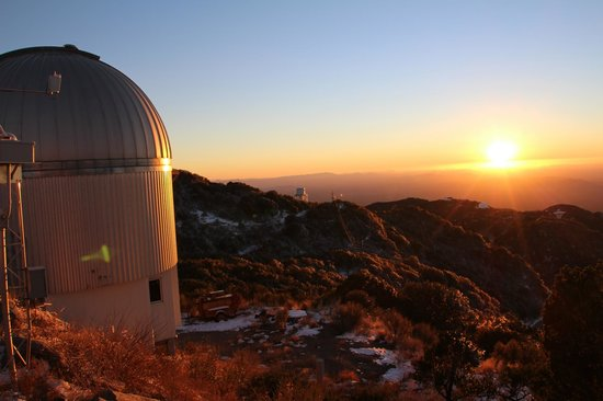 Kitt Peak National Observatory: Sunset on the mountain