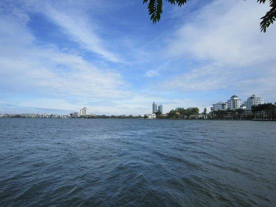 View of West Lake, Hanoi