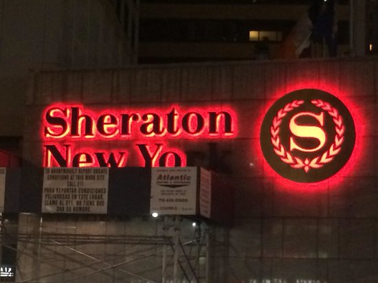 Sheraton New York Times Square Hotel: ...A perfect analogy for the staff's lack of attention to detail and general ambivalence toward